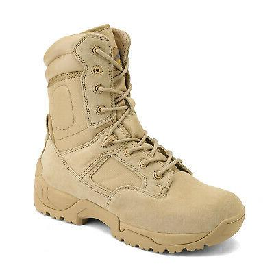 NORTIV Military Tactical Boots Motorcycle Boots