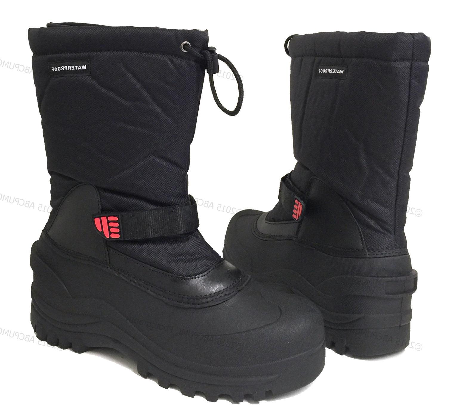 "Mens Winter Boots 10"" Ski"