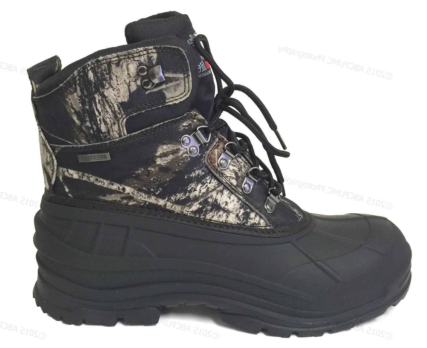 Mens Camouflage Waterproof Insulated Thermolite