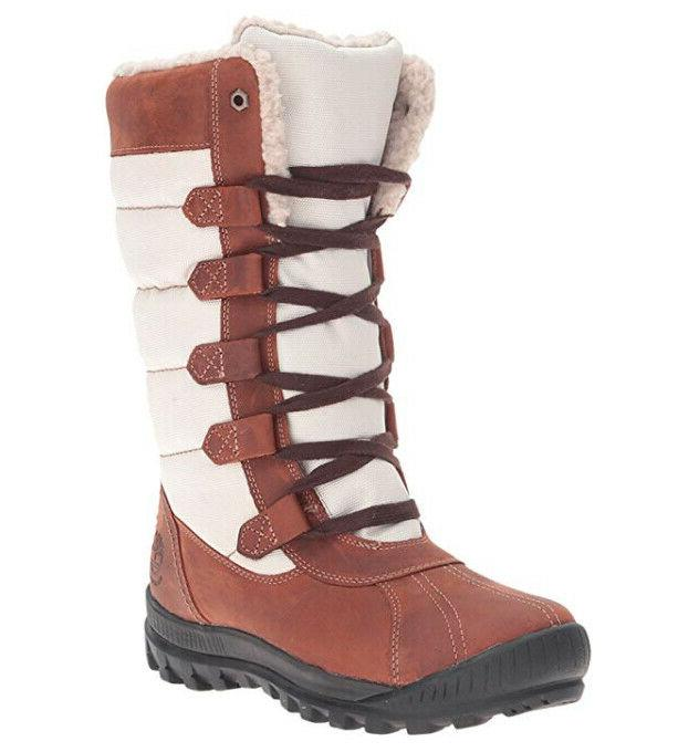 mt hayes tall brown leather waterproof winter