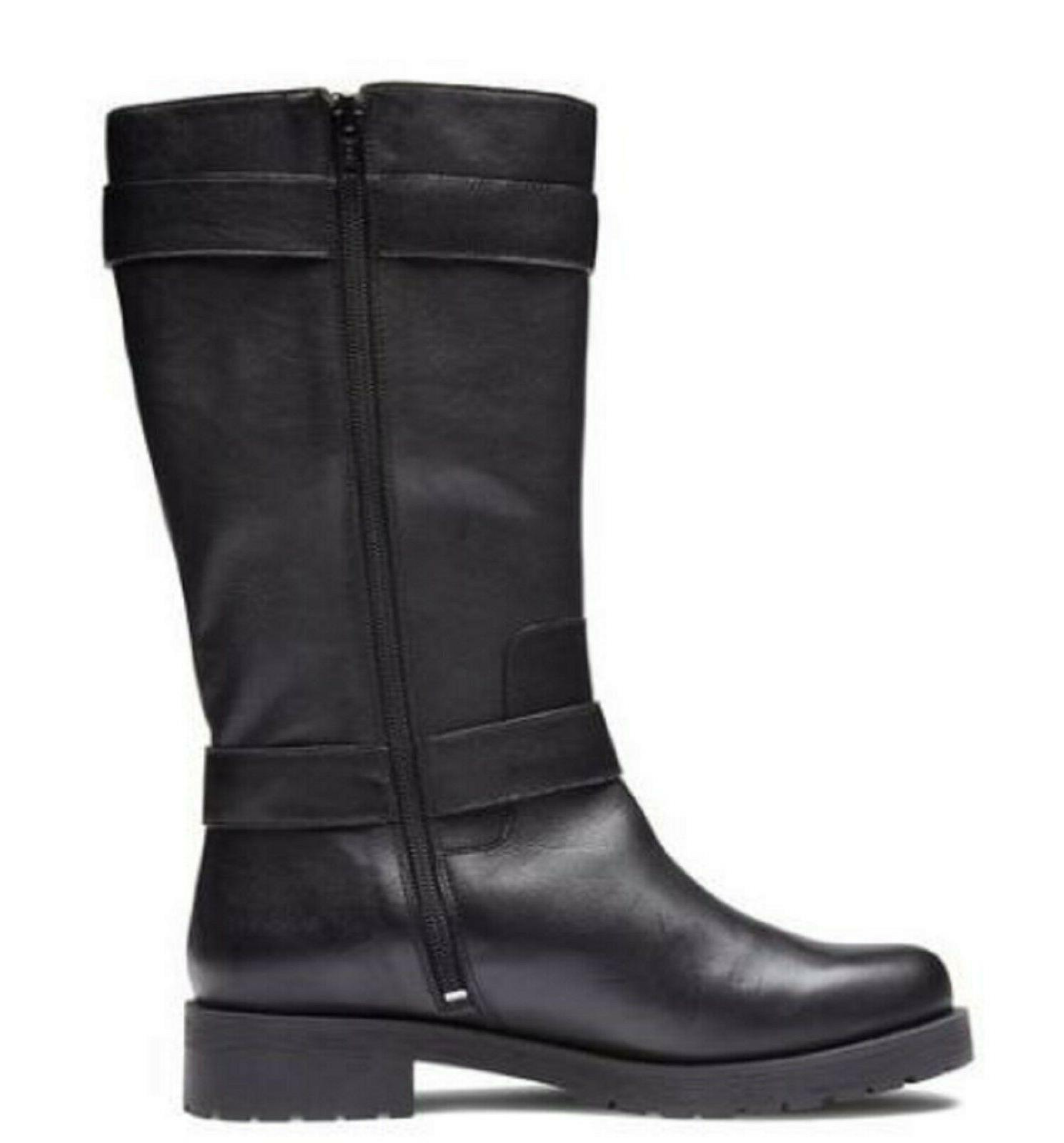 Vionic Orthaheel Leather Supportive Boots