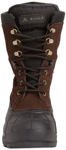 Kamik Nationplus Boot,Dark Brown,13 M