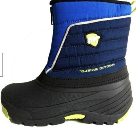 NEW Arctic Shield Winter Snow Boots Blue Size