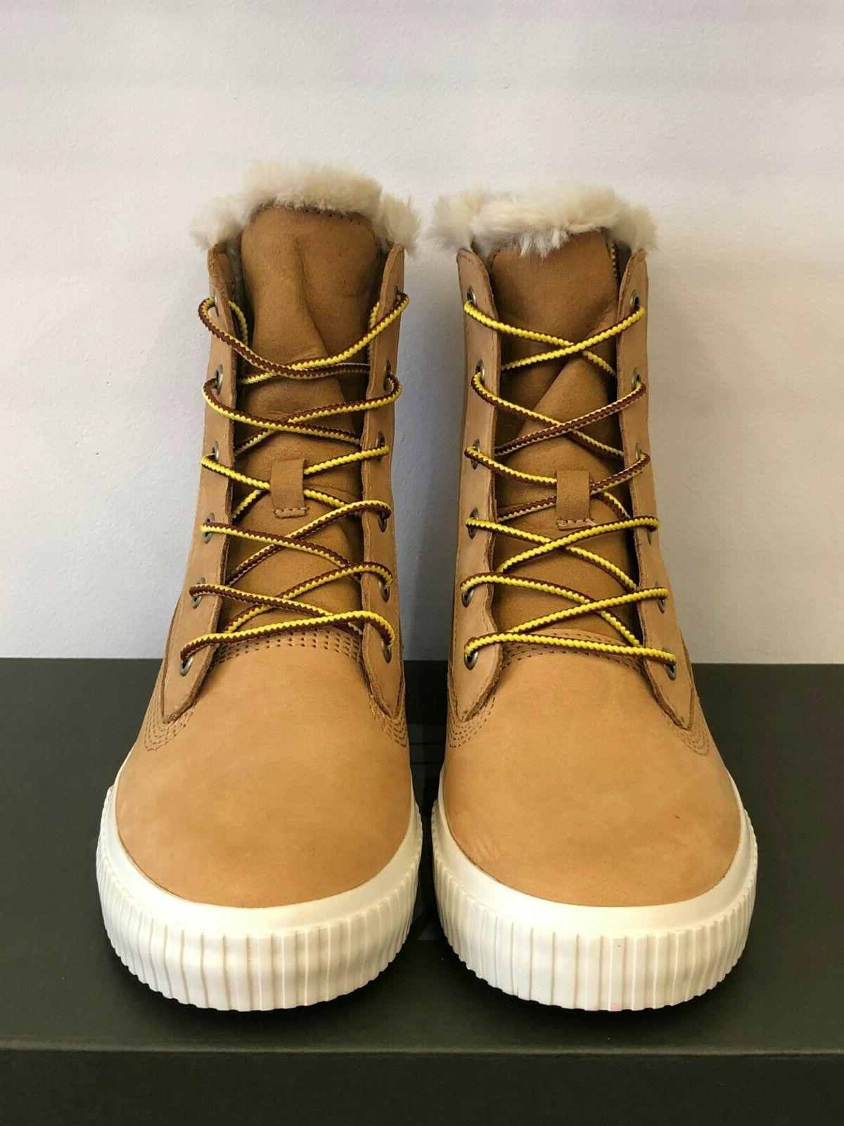 NEW IN THE TIMBERLAND WHEAT WINTER BOOTS SHOES