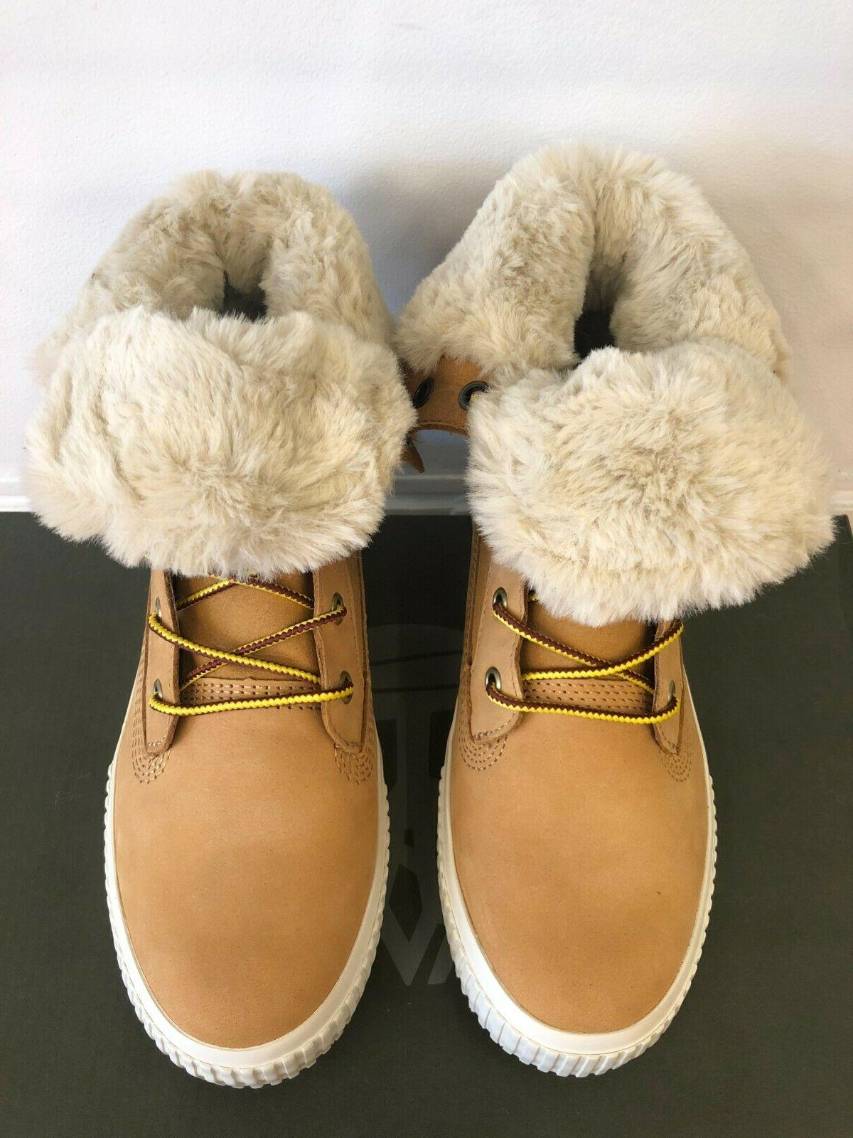 NEW IN THE TIMBERLAND SKYLA WHEAT BOOTS SHOES FOR WOMEN