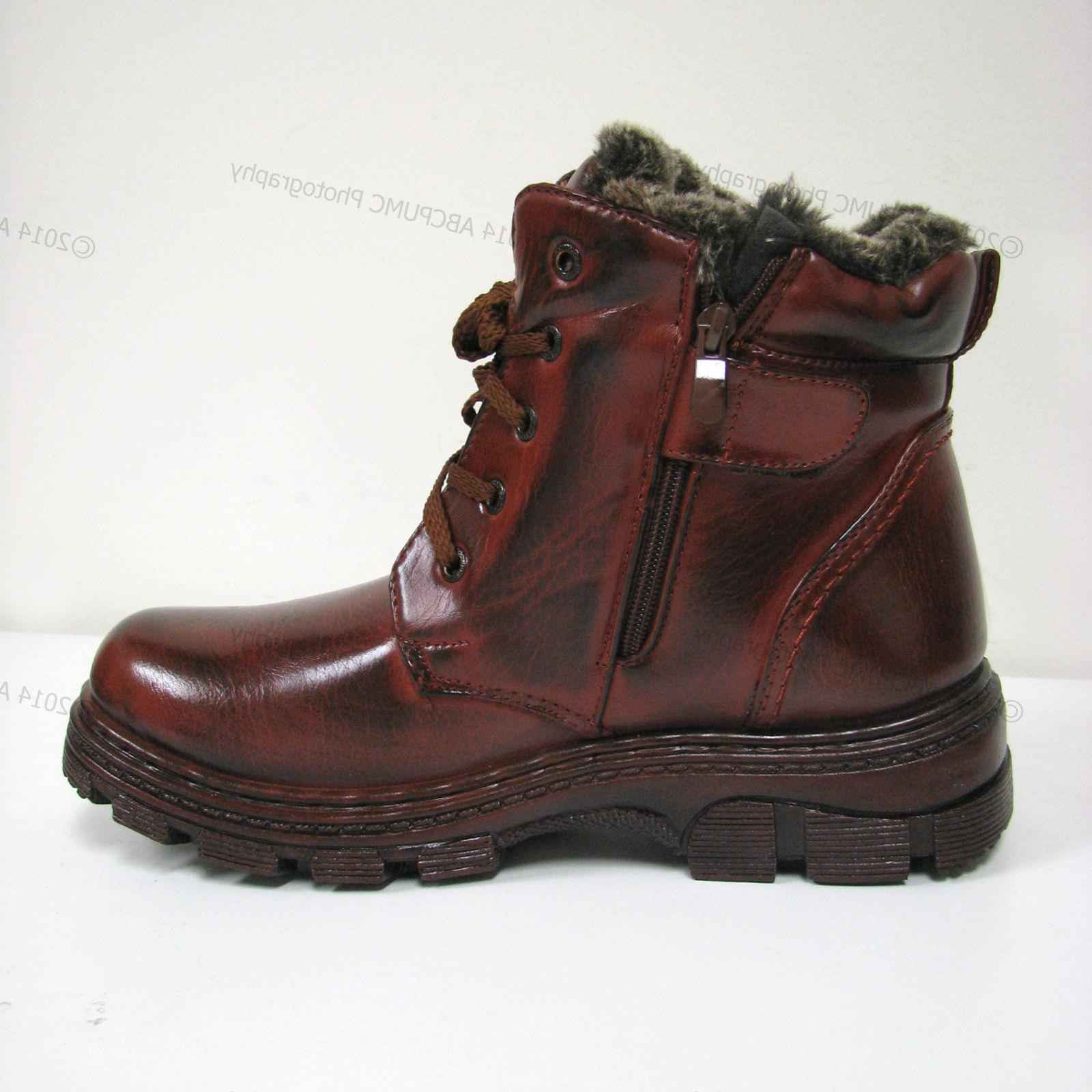 New Men's Winter Boots Sizes:7-13