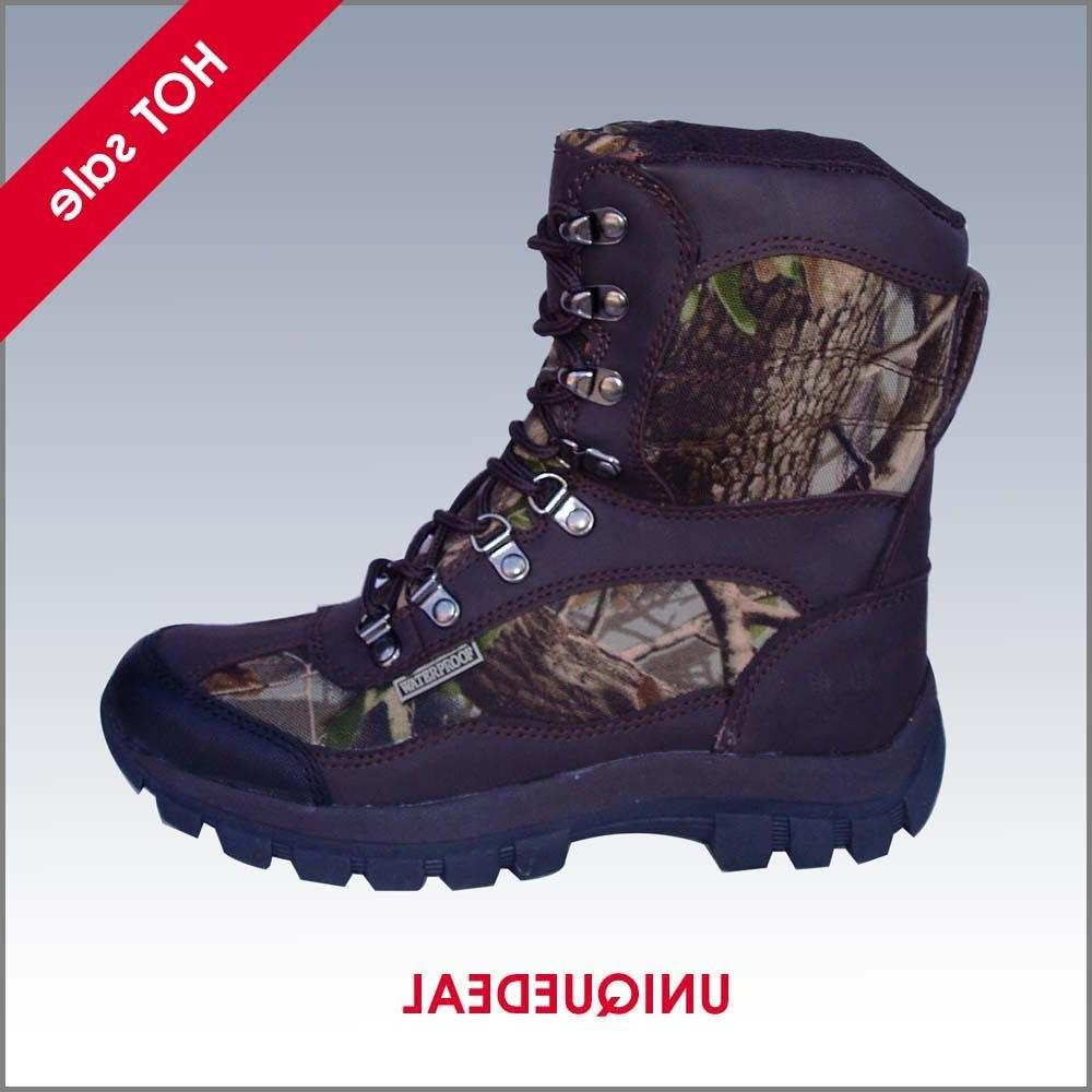 new mens snow winter hunting boots waterproof