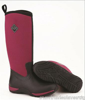 new muck maroon arctic adventure womens extreme