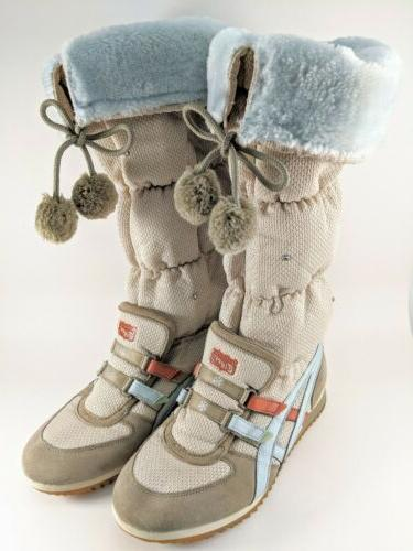 onitsuka tiger snow knee high sneaker boots