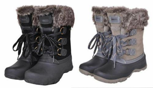 New Khombu Slope Women's Waterproof Winter Boots Nice!! PICK