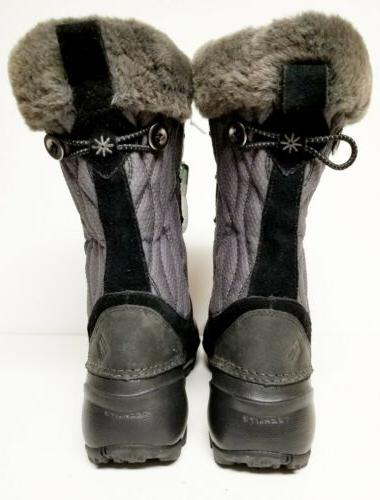 New HEAT Winter Boots grey Womens size