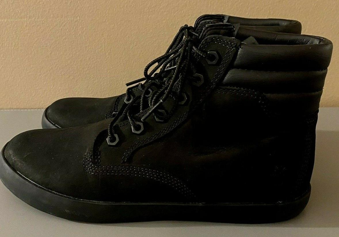 New Dausette Sneaker Boot Black Nubuck Suede A1KLO Size