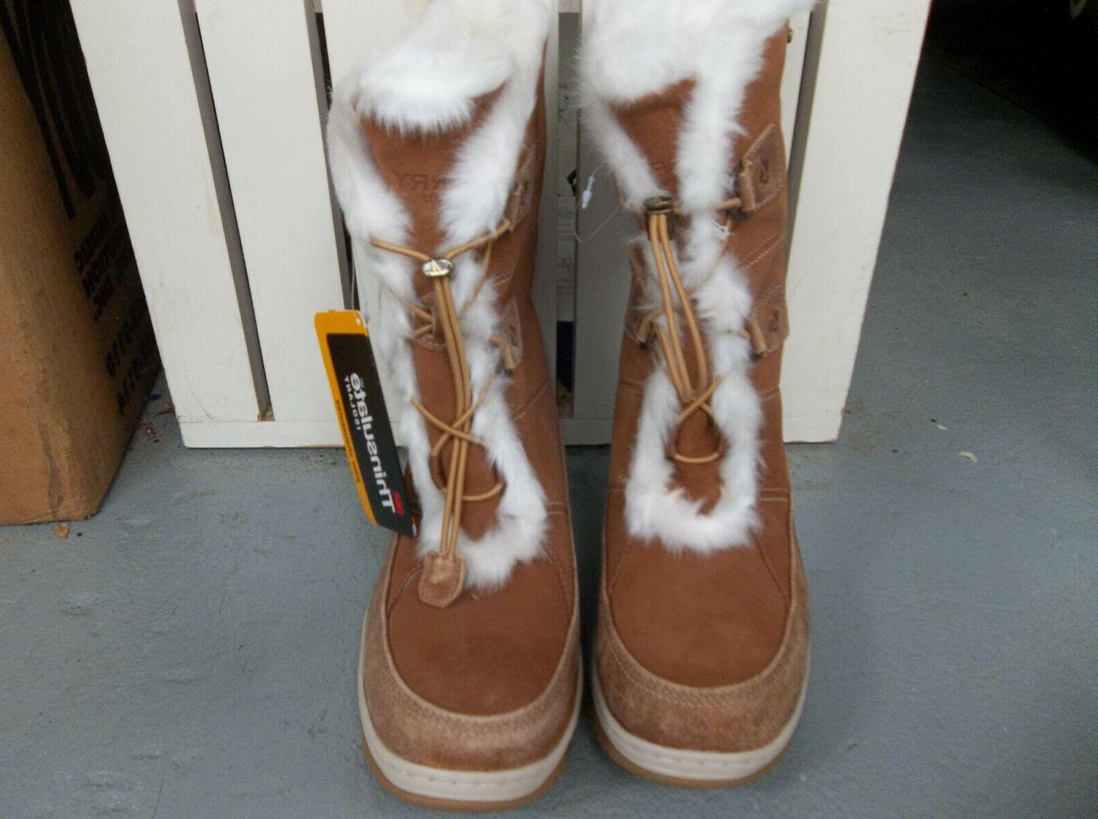 NEW WOMEN'S SIDER THINSULATE BOOTS.SIZE 7.BRAND NEW