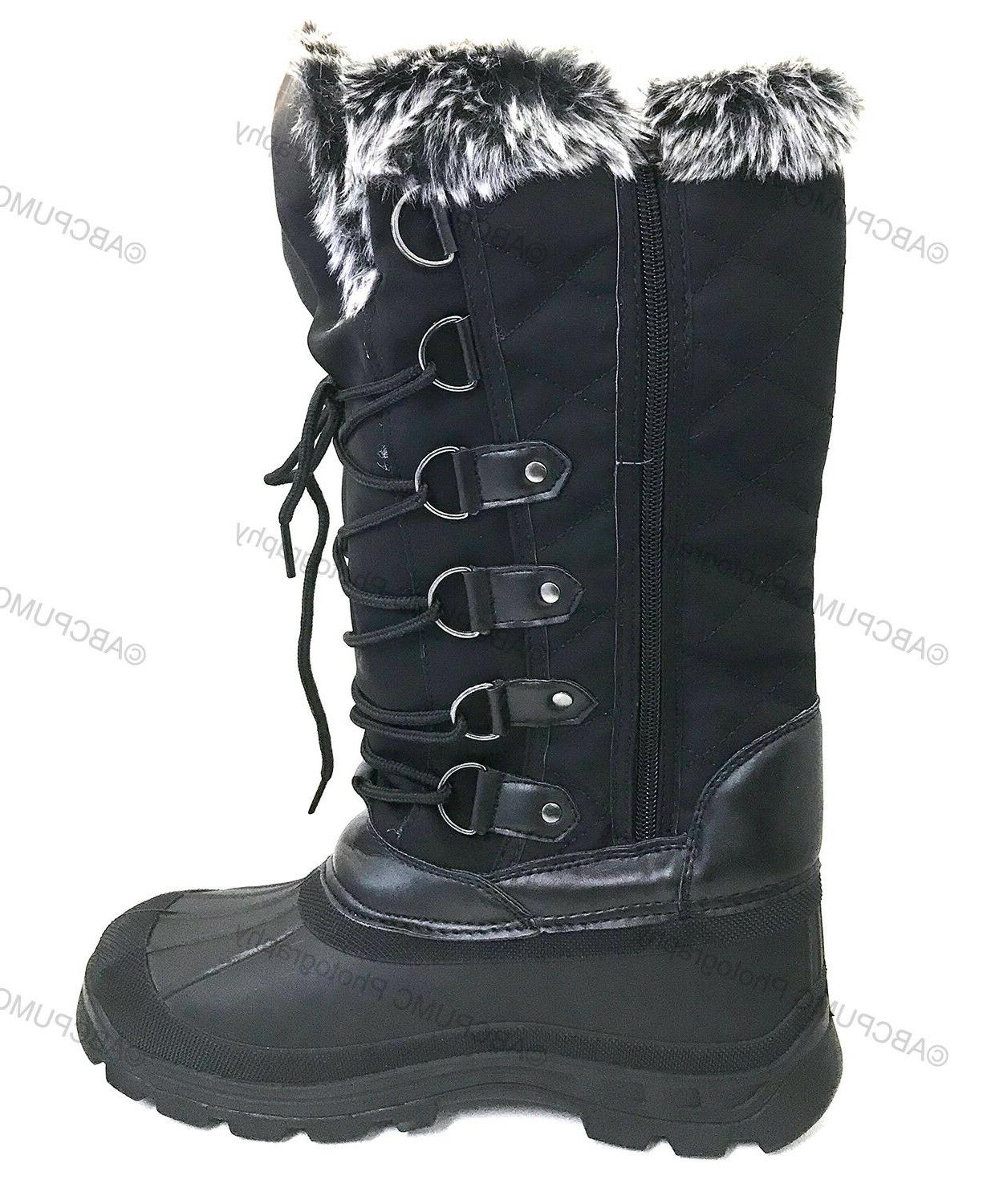 Brand Women's Boots Warm Insulated Snow