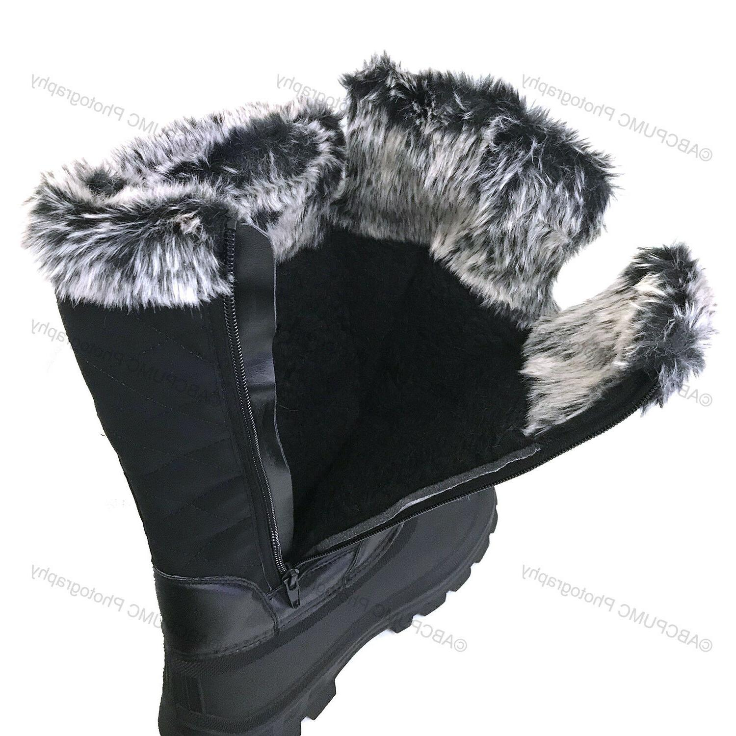 New Fur Water Resistant Warm Insulated Shoes