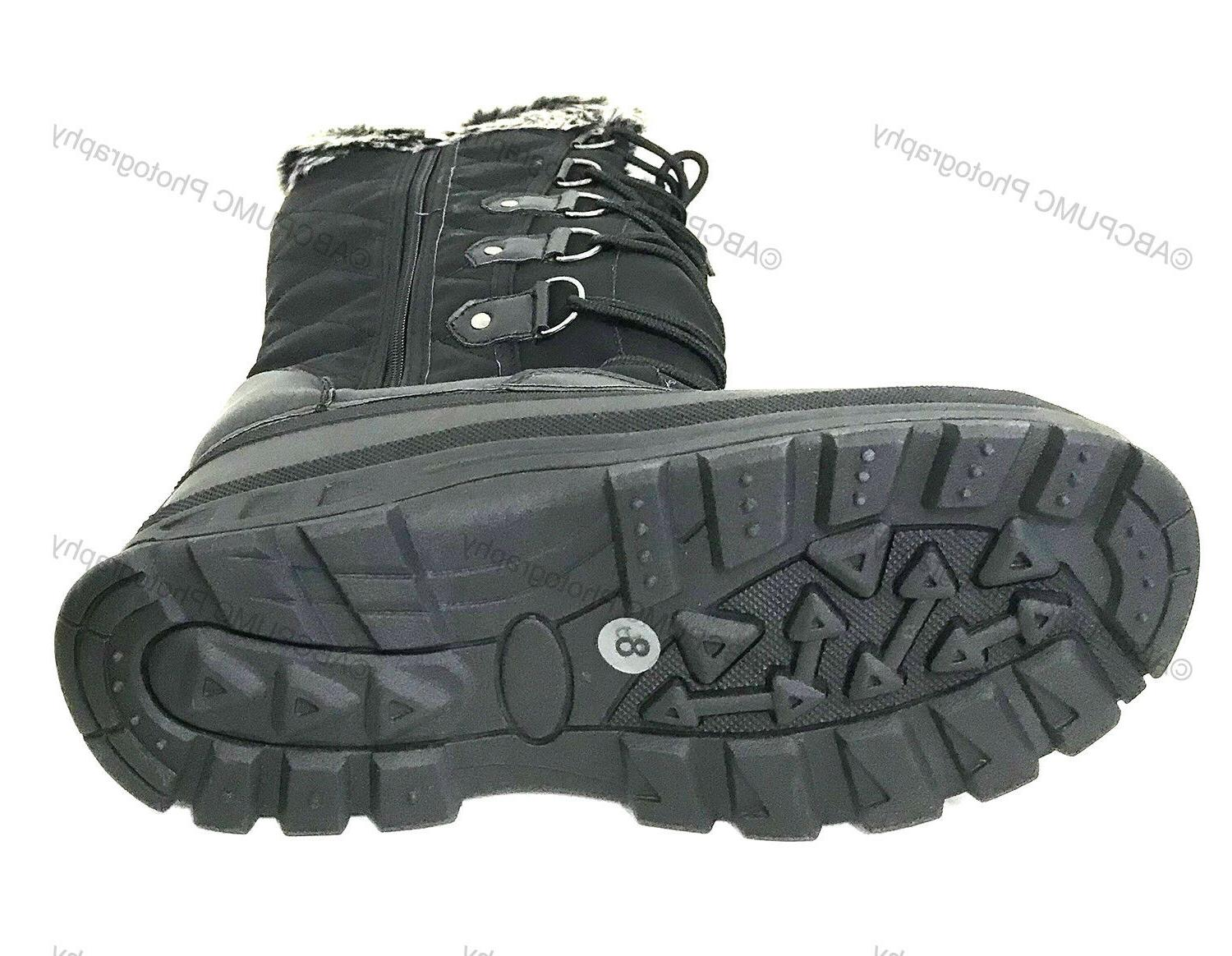 New Fur Water Insulated Shoes