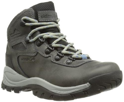 270f15e6be6 Columbia Women's Newton Ridge Plus Hiking Boot, Quarry/Cool Wave, 9 M US
