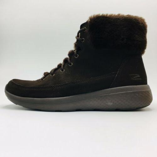 Skechers Winter Water Resistent Suede Size Chocolate