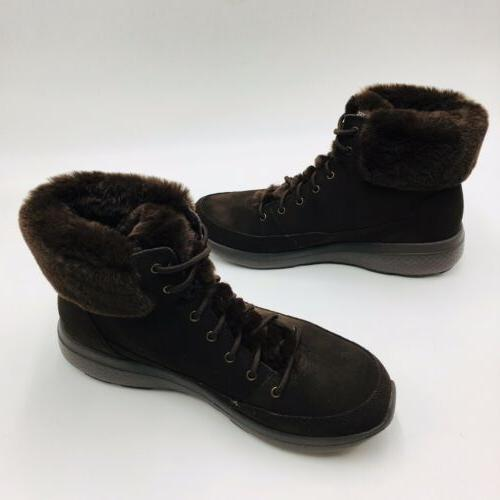 Skechers Winter Water Resistent Size Chocolate