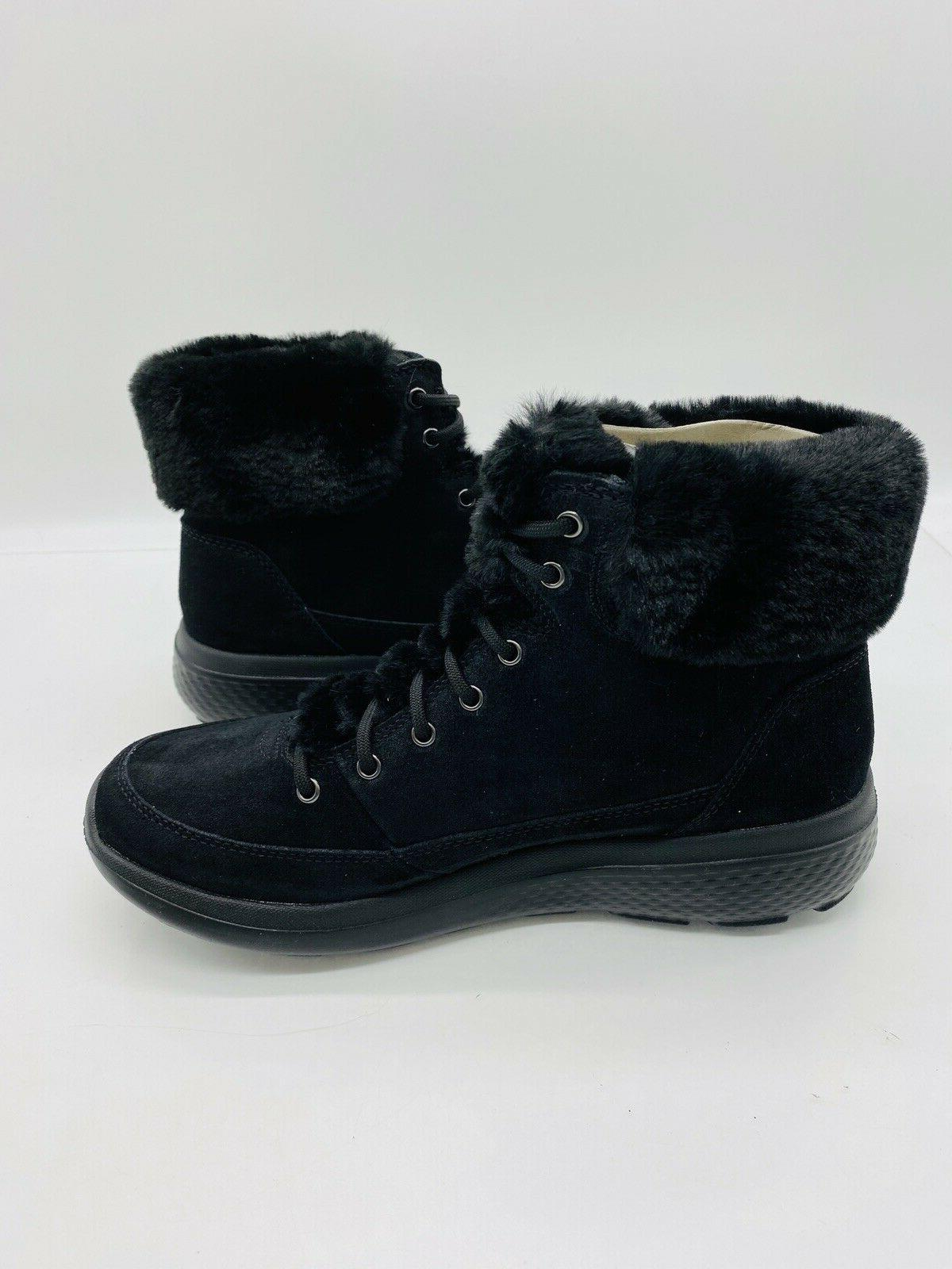 Skechers On-the-Go Chill Resistant Suede Boots