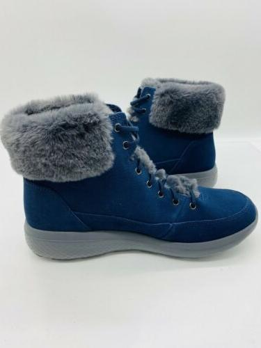 Skechers Chill Water Boots Navy Grey