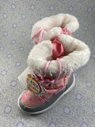 PINK SNOW BOOTS~LITTLE