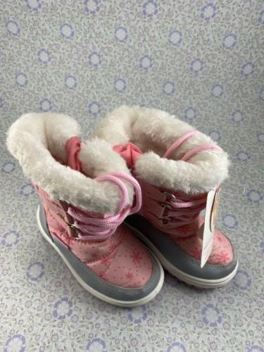 PINK CHAMPION WINTER SNOW BOOTS~LITTLE GIRLS 5~NWT