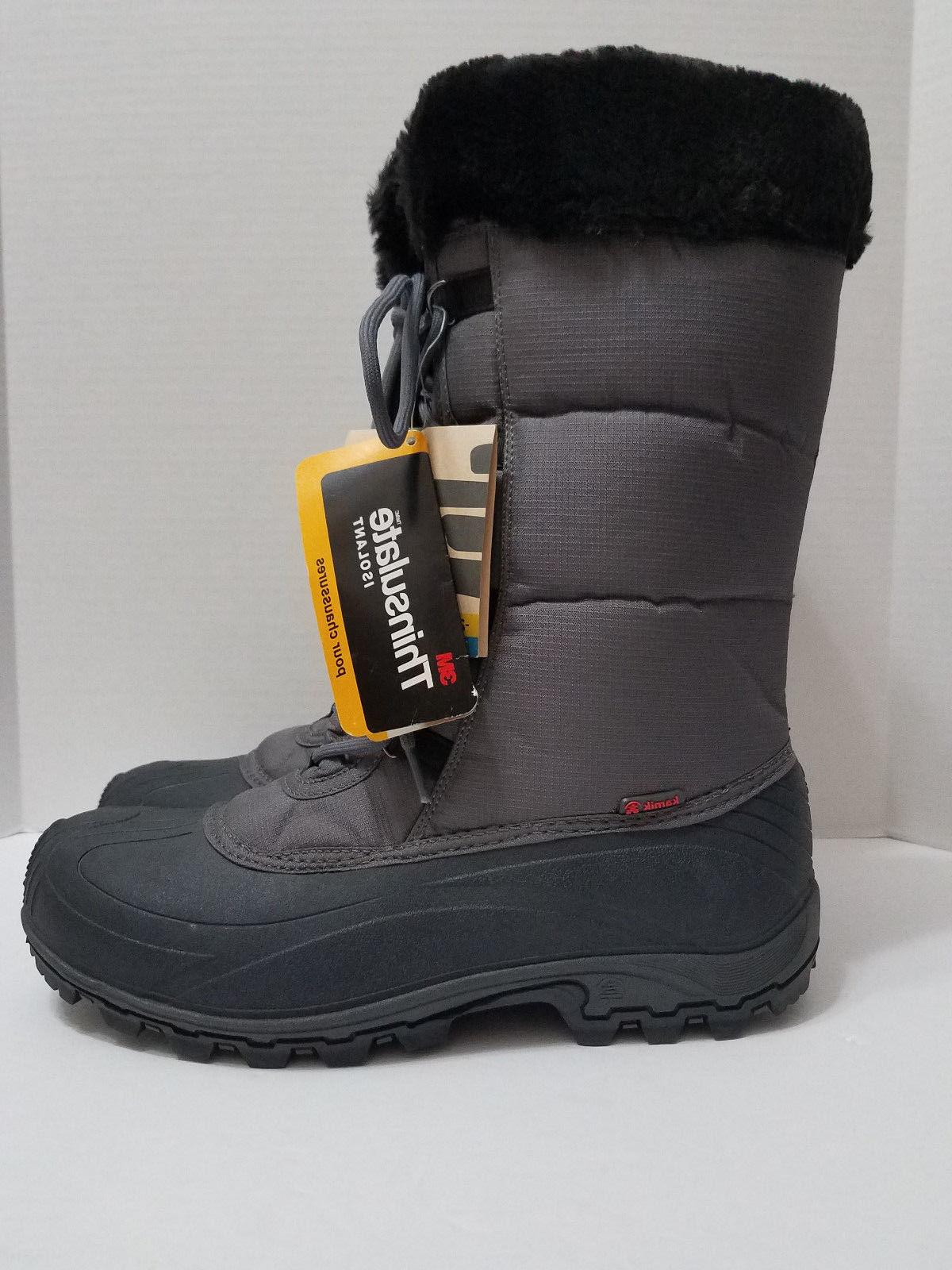 Kamik Rival Snow boot Thinsulate Impermeable Waterproof Sz
