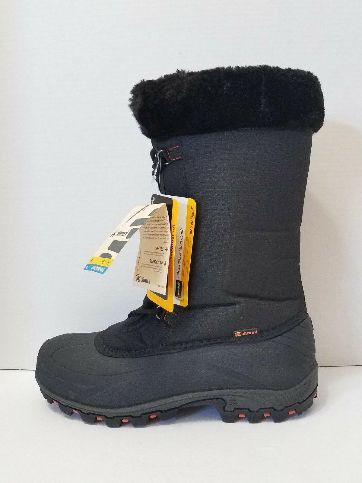 rival womens winter snow boot thinsulate impermeable