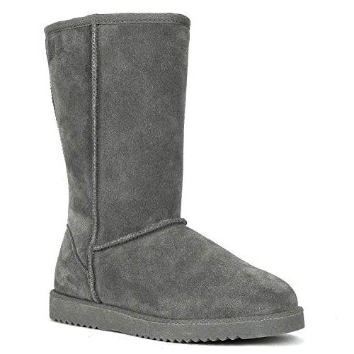 shorty knee winter snow boots
