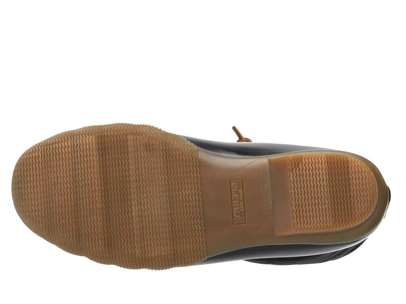 Sperry Top-Sider Chevron Quilted Nylon Duck Winter Snow
