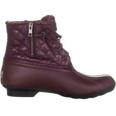 Sperry Boots, Leather Wine, 8 US EU