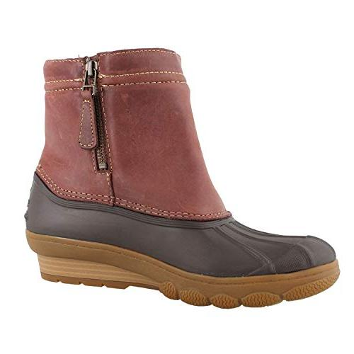 Sperry Saltwater Wedge Spray Boots M