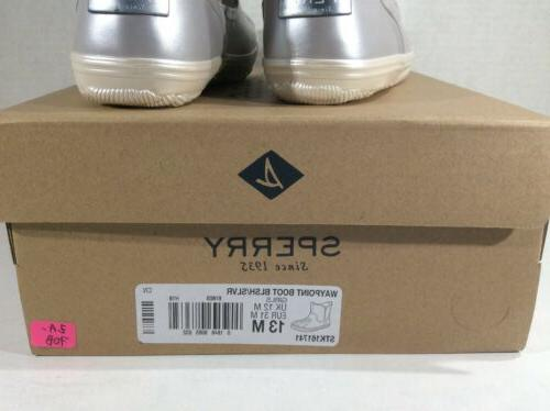 Waypoint Silver Winter Boots Shoes