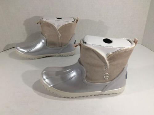 SPERRY TOP Waypoint Silver Boots Y ZA-708
