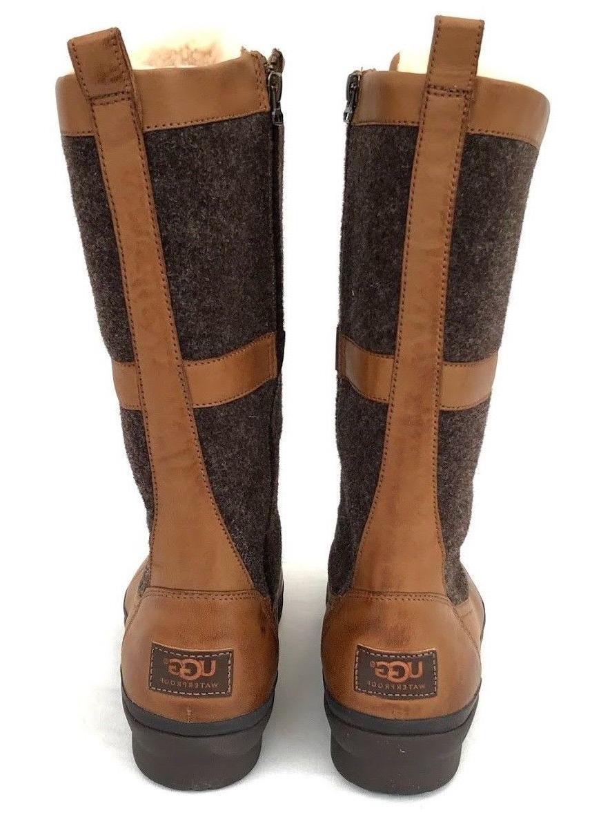 Ugg Elvia Women's up Wool Rubber Boots