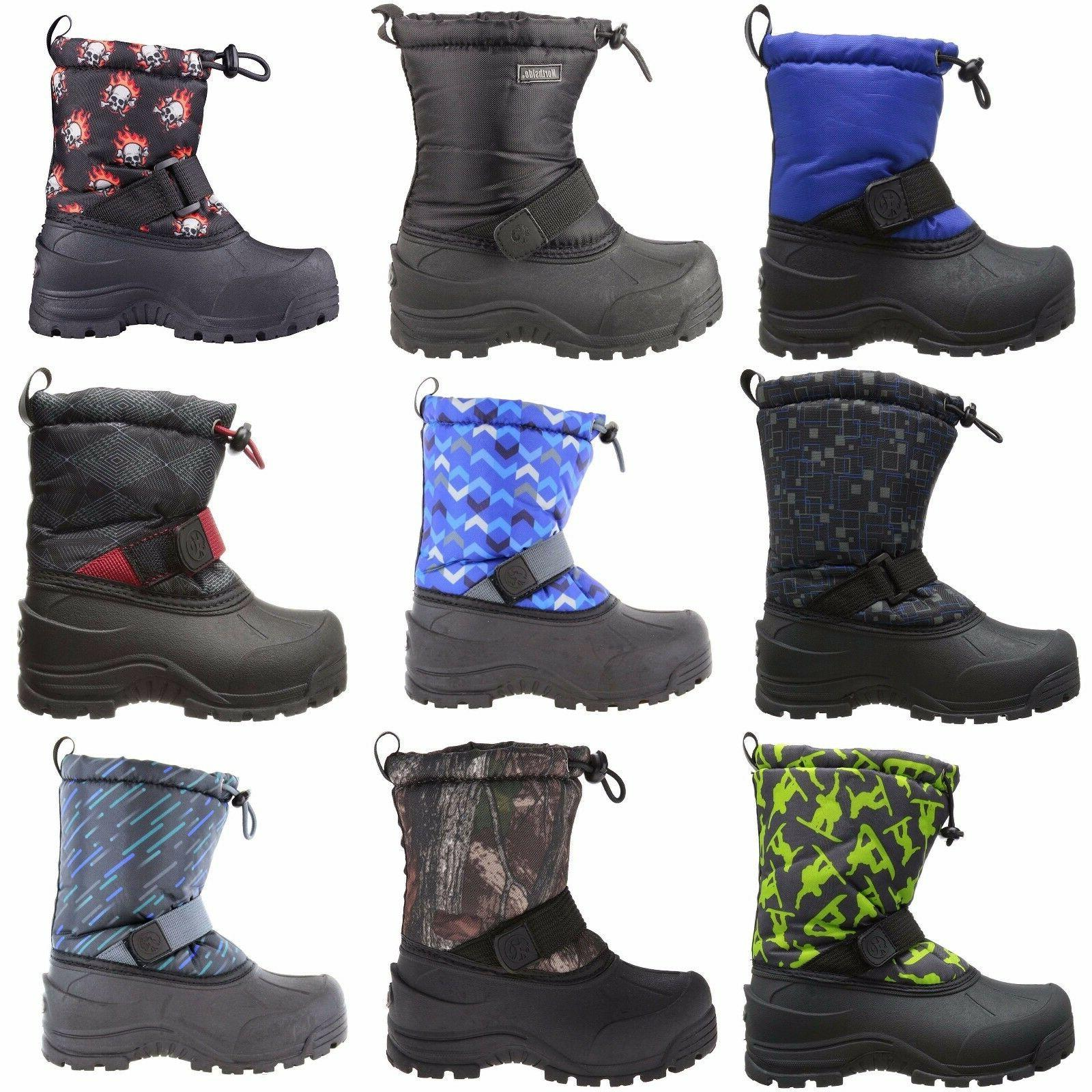 unisex kids frosty thermolite waterproof lightweight winter