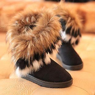 US Casual Fur Boots