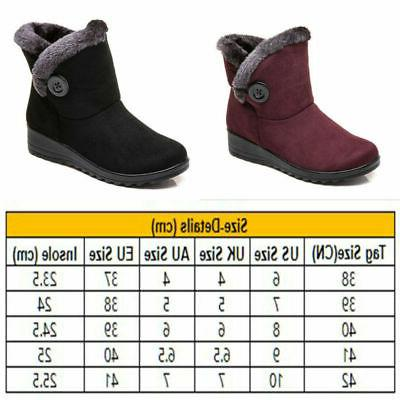 USA Women Shoes Snow Boots On Waterproof