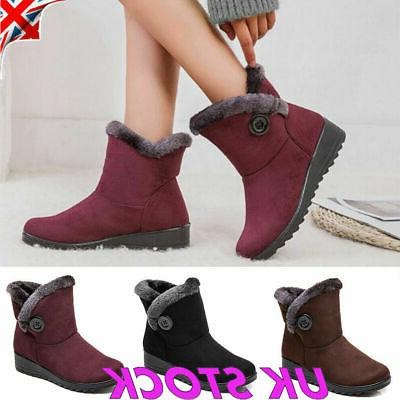 usa winter women shoes snow boots fur