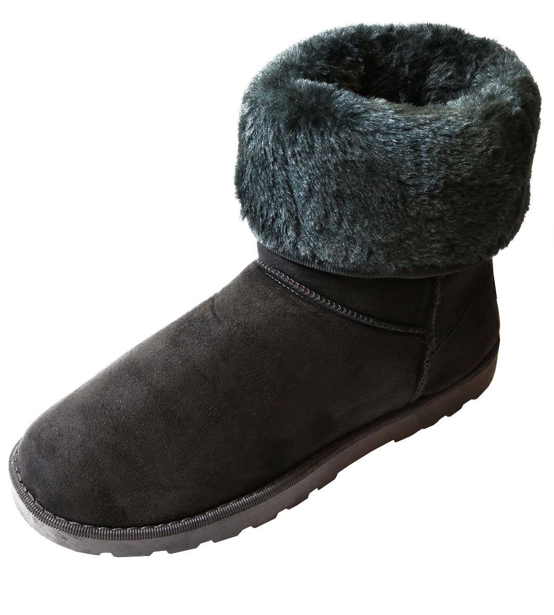 Winter Boots Fur Warm Fashion Plush 4