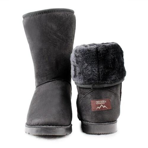 Winter Fur Suede Mid Warm 4 Colors
