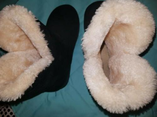 Winter Plush Boots 5.5 inlined. Warm.