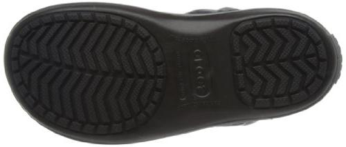 crocs Women's Winter Boot Snow Black/Charcoal, M