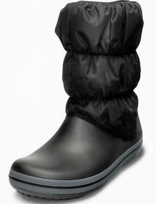 Boot Wom Snow Boot, Black/Charcoal, M US