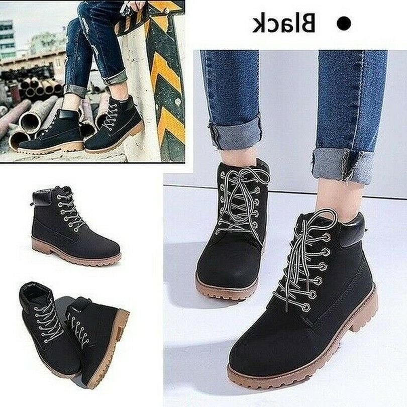 Winter Snow Casual Bootie Warm Outdoor Work Shoes