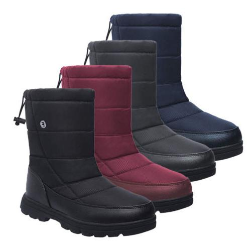 women plus size winter snow boots warm