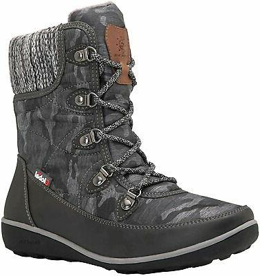 GLOBALWIN Snow Boots, Size 7.5
