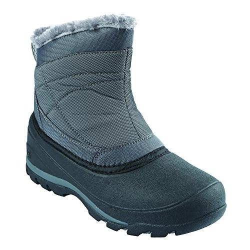women s alana snow boot gray lilac