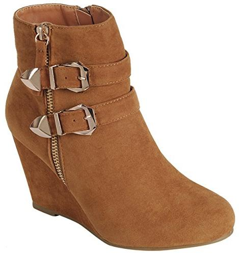 women s ankle strappy buckle zipper wrapped